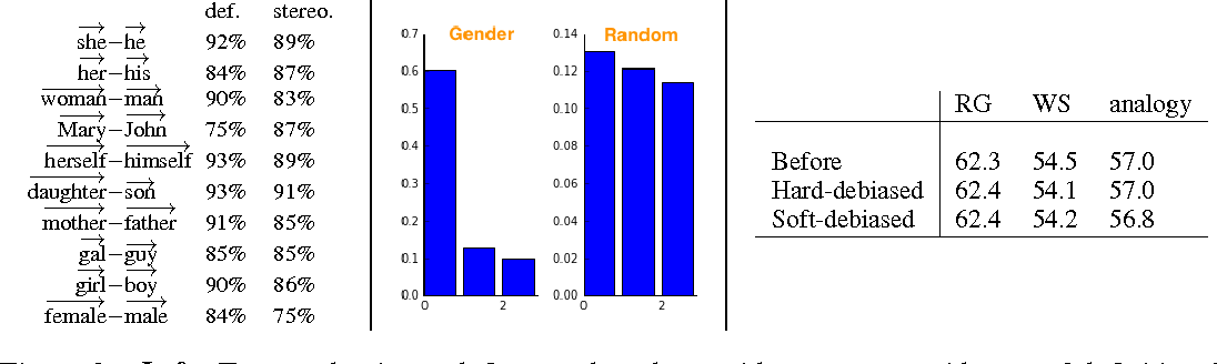 Figure 2 for Man is to Computer Programmer as Woman is to Homemaker? Debiasing Word Embeddings