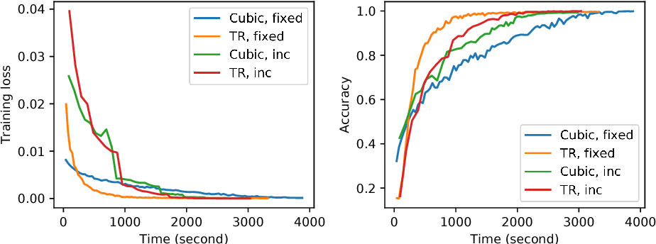Figure 2 for Stochastic Second-order Methods for Non-convex Optimization with Inexact Hessian and Gradient