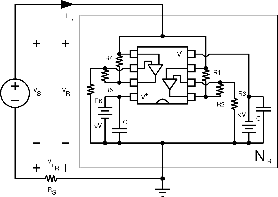 Figure 12 From Robust Op Amp Realization Of Chuas Circuit Tl082 Dual Operational Amplifier Schematic The V I Characteristic Negative Resistor Nr Can Be Measured By Applying A