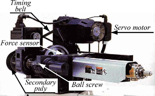 Fig. 1. Photograph of the experimental injection system.