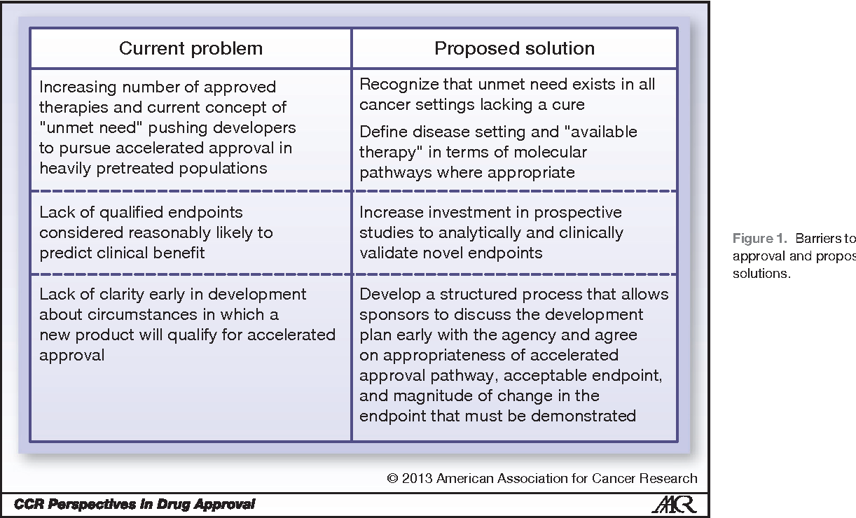 PDF] Reevaluating the accelerated approval process for oncology