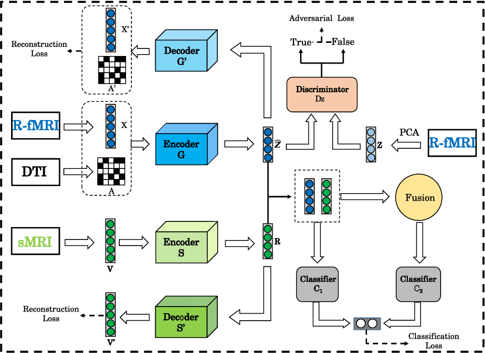 Figure 1 for Multimodal Representations Learning and Adversarial Hypergraph Fusion for Early Alzheimer's Disease Prediction