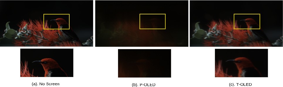 Figure 1 for Transform Domain Pyramidal Dilated Convolution Networks For Restoration of Under Display Camera Images