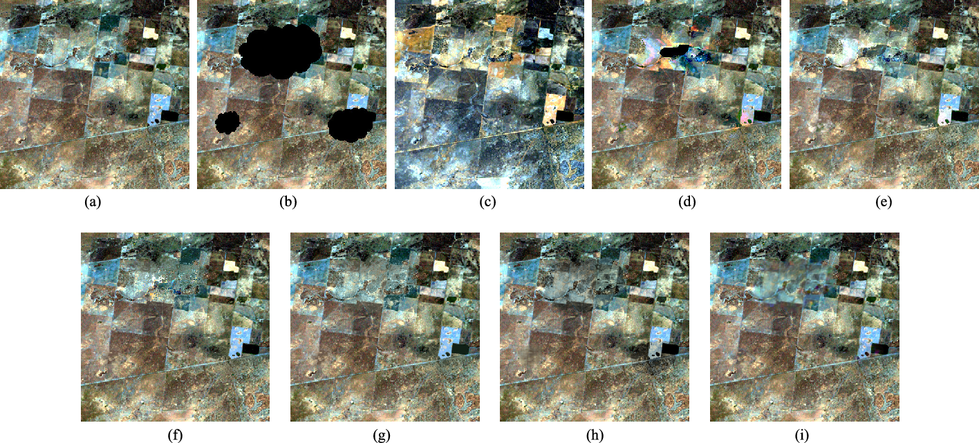Figure 4 for Missing Data Reconstruction in Remote Sensing image with a Unified Spatial-Temporal-Spectral Deep Convolutional Neural Network