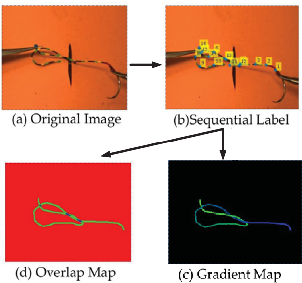 Figure 4 for Multi-stage Suture Detection for Robot Assisted Anastomosis based on Deep Learning