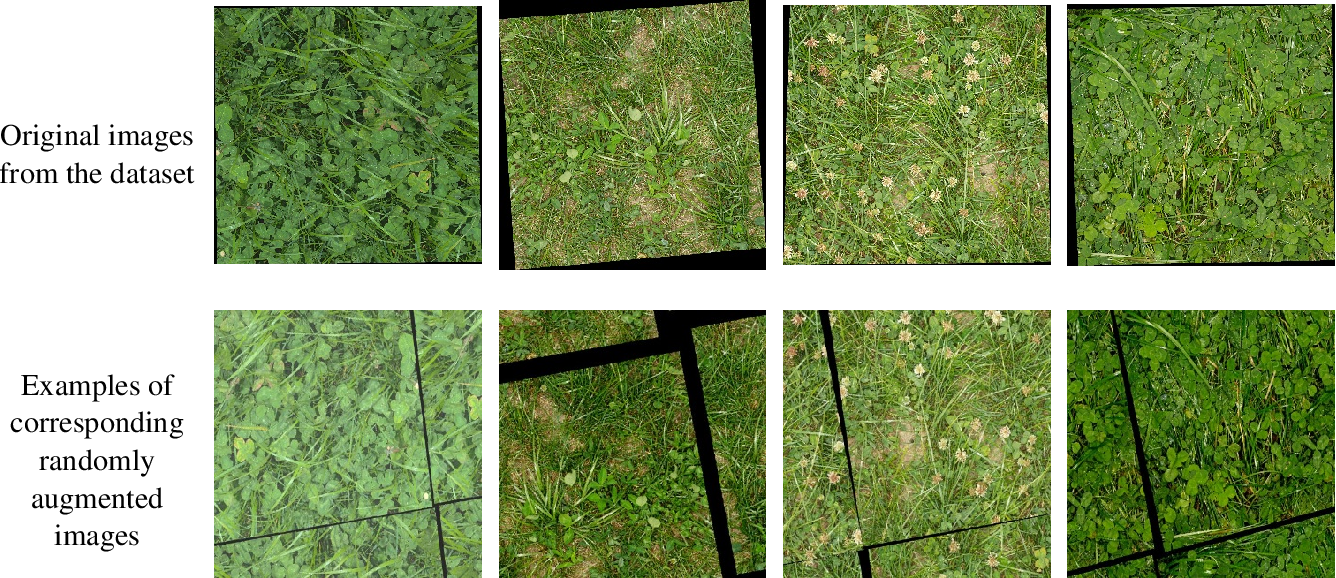 Figure 2 for Extracting Pasture Phenotype and Biomass Percentages using Weakly Supervised Multi-target Deep Learning on a Small Dataset
