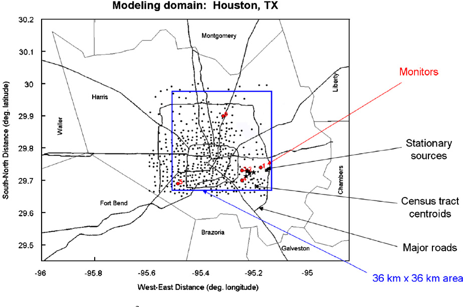 A hybrid modeling approach to resolve pollutant concentrations in an
