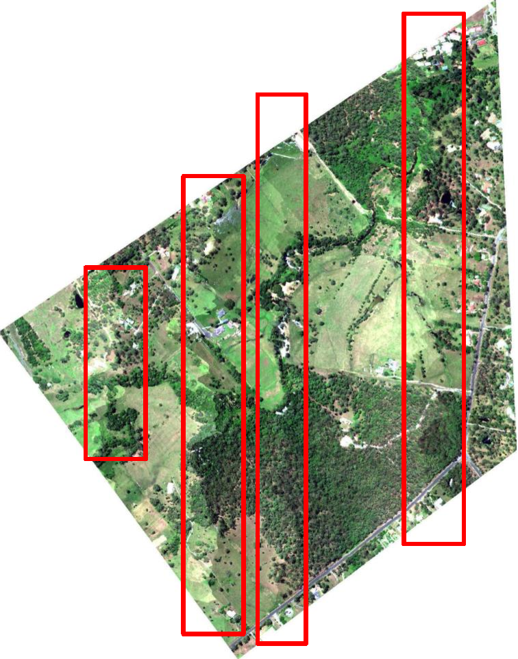 Figure 3 for Integration of LiDAR and Hyperspectral Data for Land-cover Classification: A Case Study