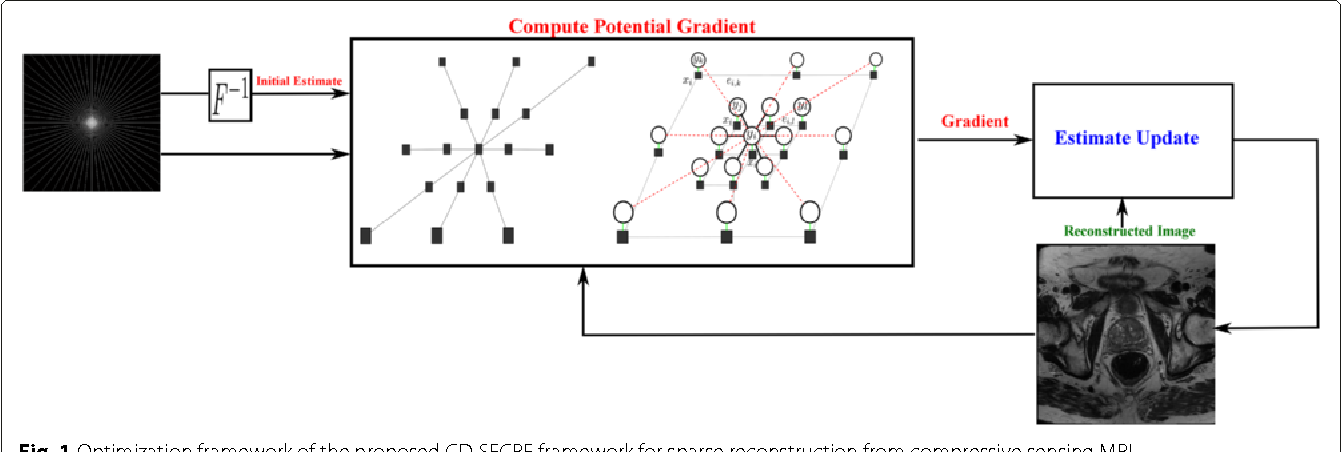 Figure 1 for Sparse Reconstruction of Compressive Sensing MRI using Cross-Domain Stochastically Fully Connected Conditional Random Fields