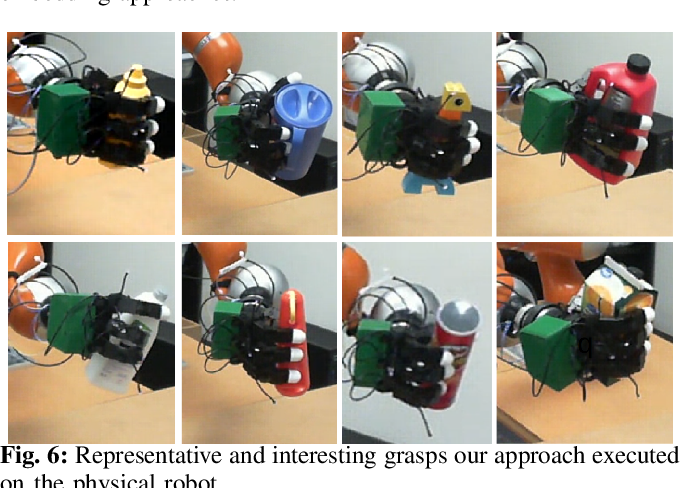 Figure 4 for Learning Continuous 3D Reconstructions for Geometrically Aware Grasping