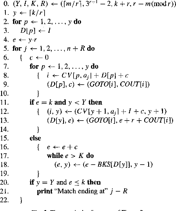 A subquadratic algorithm for approximate limited expression matching