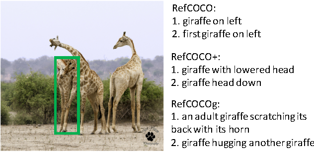 Figure 1 for Modeling Context in Referring Expressions