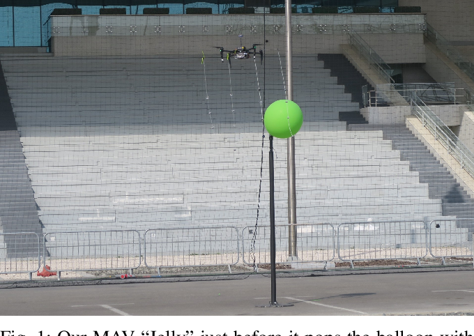 Figure 1 for Visually Guided Balloon Popping with an Autonomous MAV at MBZIRC 2020