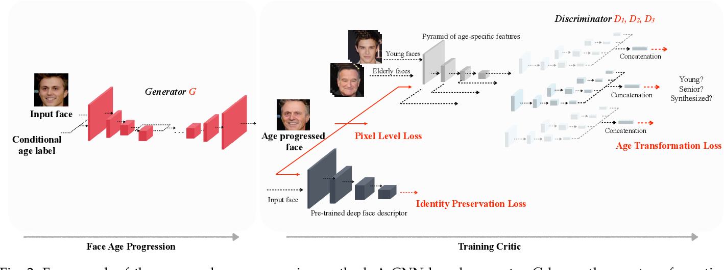 Figure 3 for Learning Continuous Face Age Progression: A Pyramid of GANs