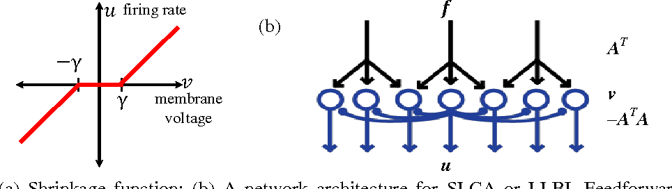 Figure 1 for Online computation of sparse representations of time varying stimuli using a biologically motivated neural network