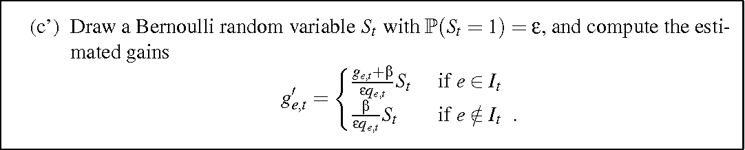 Figure 3 for The on-line shortest path problem under partial monitoring