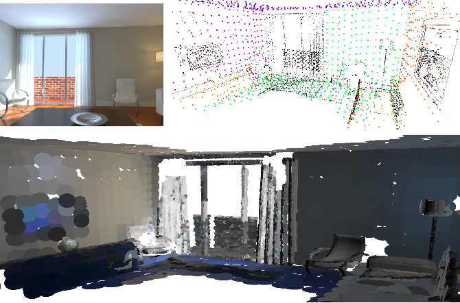 Figure 1 for ManhattanSLAM: Robust Planar Tracking and Mapping Leveraging Mixture of Manhattan Frames