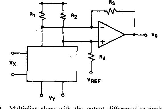 Figure 9 from A 20-V four-quadrant CMOS analog multiplier - Semantic
