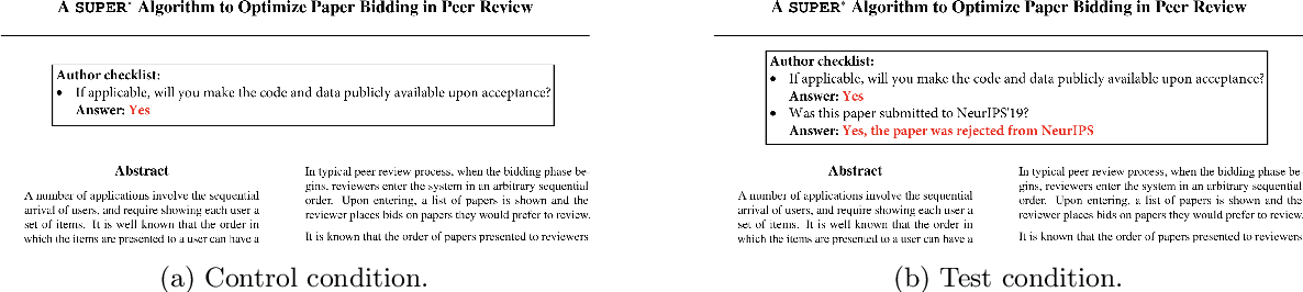 Figure 1 for Prior and Prejudice: The Novice Reviewers' Bias against Resubmissions in Conference Peer Review