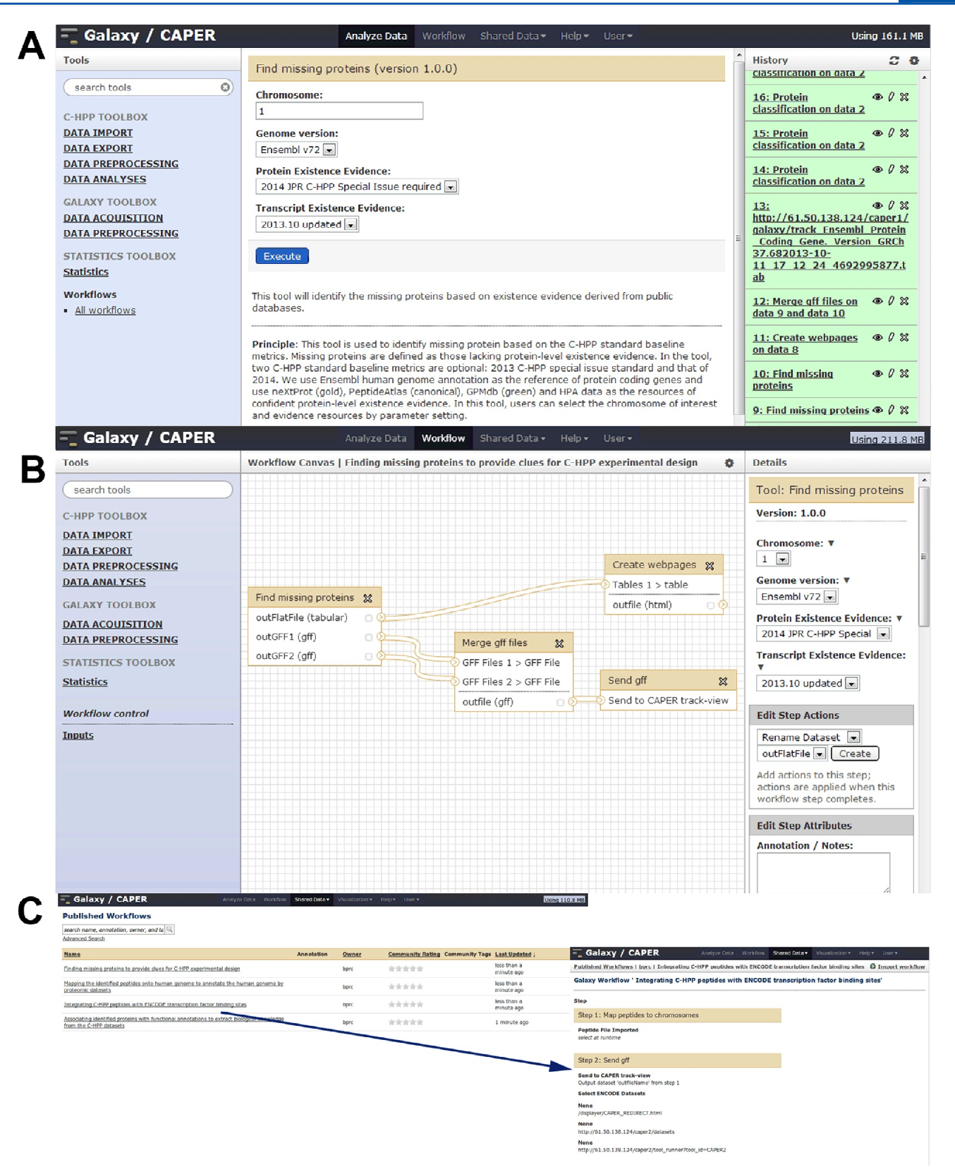 Figure 1 from CAPER 2 0: an interactive, configurable, and