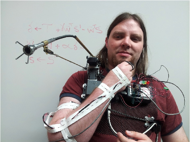Figure 1 for Using Learned Predictions as Feedback to Improve Control and Communication with an Artificial Limb: Preliminary Findings