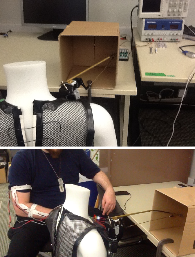 Figure 2 for Using Learned Predictions as Feedback to Improve Control and Communication with an Artificial Limb: Preliminary Findings