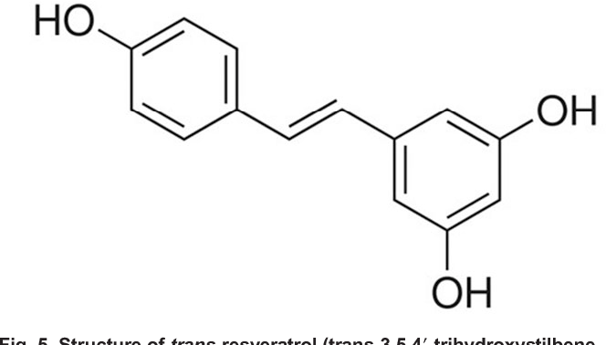 Structure Of Trans Resveratrol 35