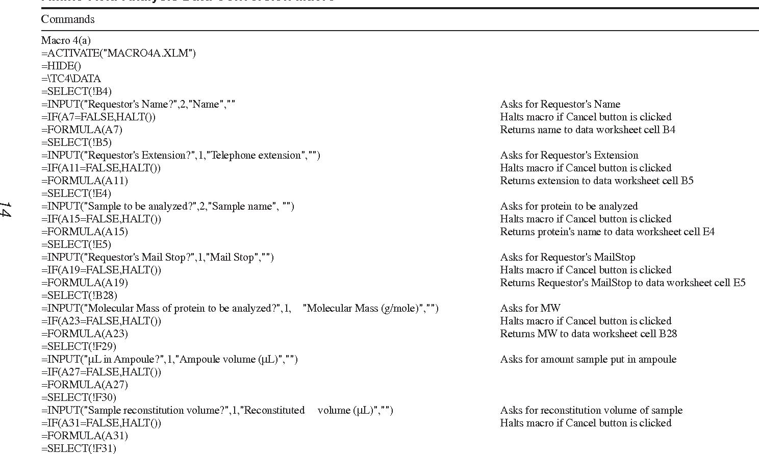 worksheet Biotechnology Worksheet amino acid analysis using postcolumn ninhydrin detection in a table 2