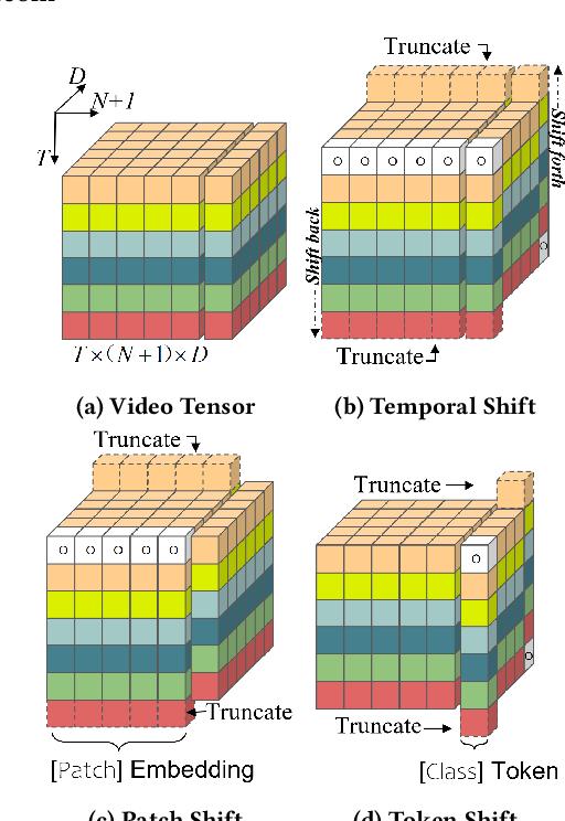 Figure 1 for Token Shift Transformer for Video Classification