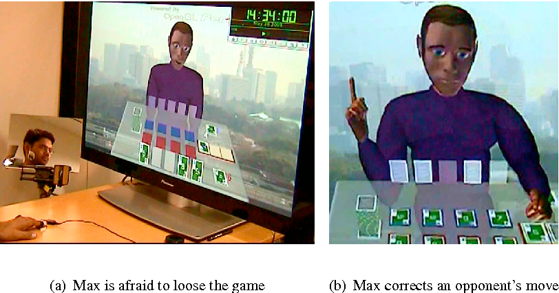 Figure 1.9 Two interaction examples from the Skip-Bo gaming scenario