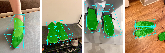 Figure 3 for Instant 3D Object Tracking with Applications in Augmented Reality