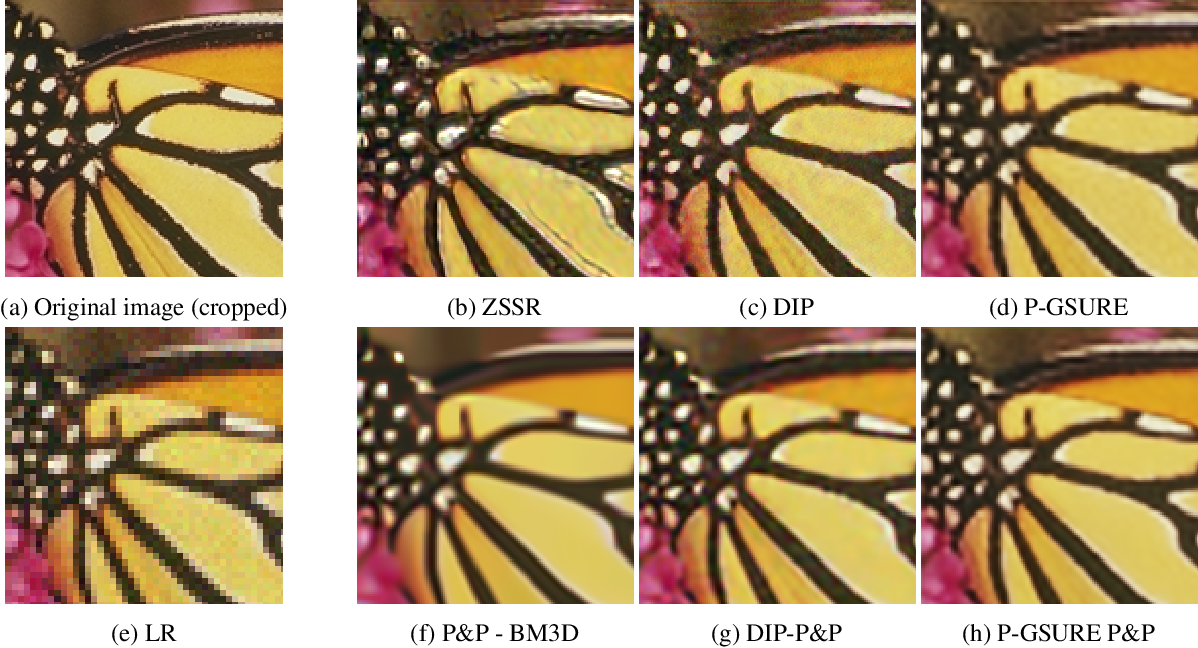 Figure 3 for Image Restoration by Deep Projected GSURE