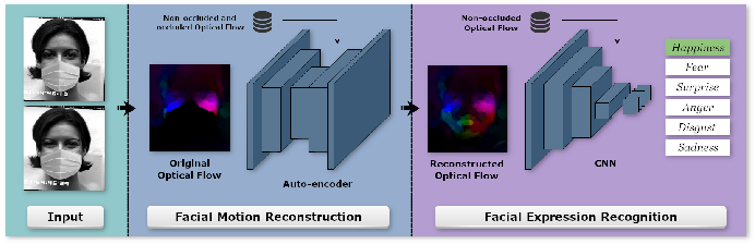 Figure 3 for Dynamic Facial Expression Recognition under Partial Occlusion with Optical Flow Reconstruction
