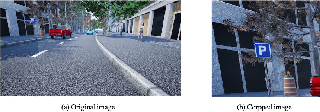Figure 4 for Traffic Sign Detection and Recognition for Autonomous Driving in Virtual Simulation Environment