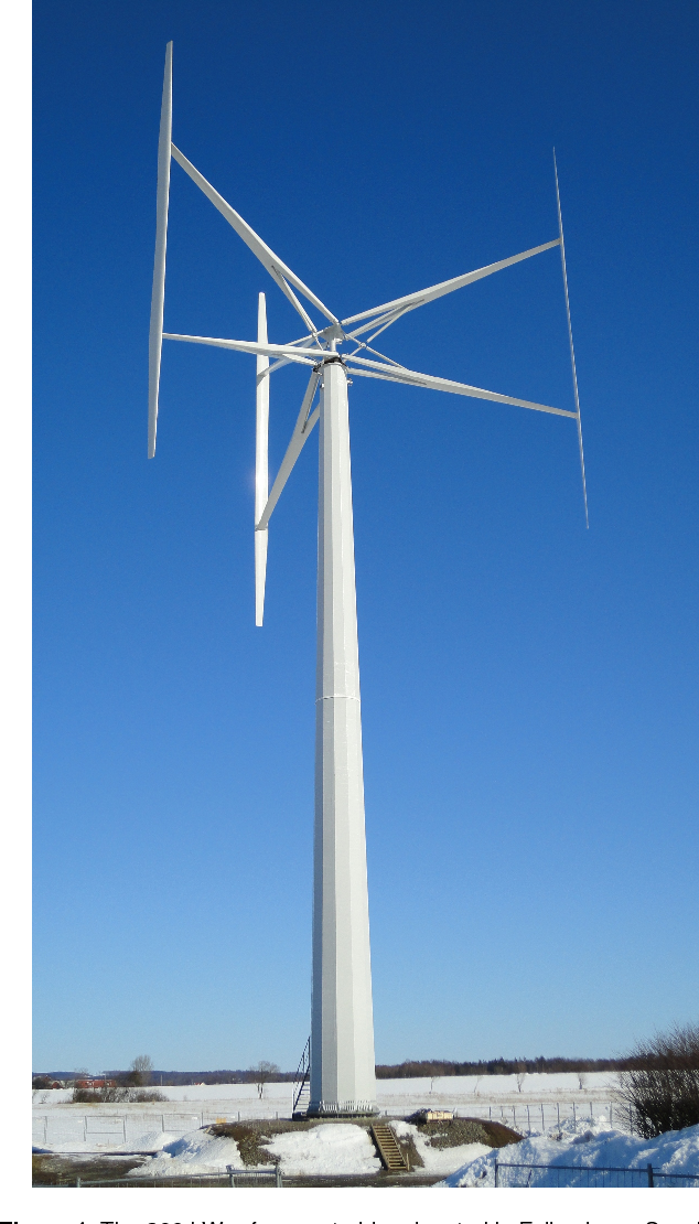 An upper size of vertical axis wind turbines - Semantic Scholar