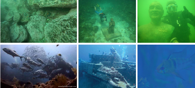 Figure 1 for Domain Adaptive Adversarial Learning Based on Physics Model Feedback for Underwater Image Enhancement