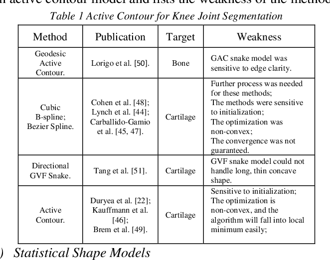 Figure 1 for Computer-Aided Knee Joint Magnetic Resonance Image Segmentation - A Survey