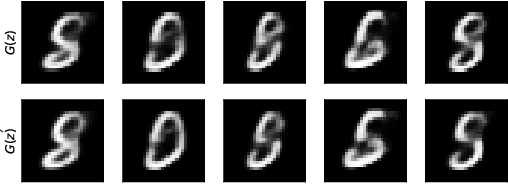 Figure 3 for The Robust Manifold Defense: Adversarial Training using Generative Models