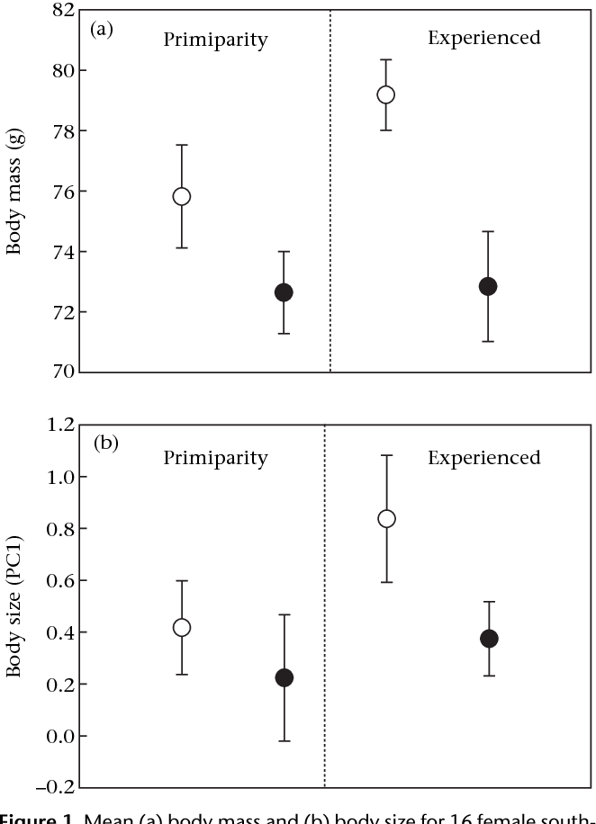 Reproductive And Resource Benefits To Large Female Body Size In A