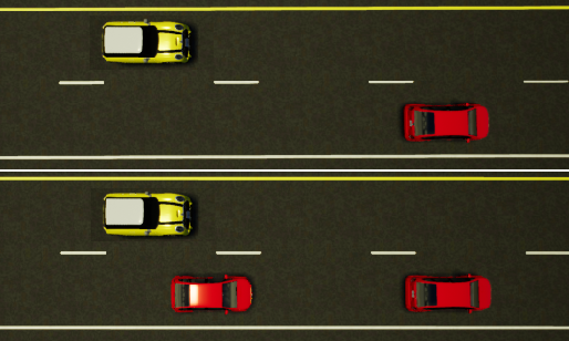 Figure 1 for Online Risk-Bounded Motion Planning for Autonomous Vehicles in Dynamic Environments