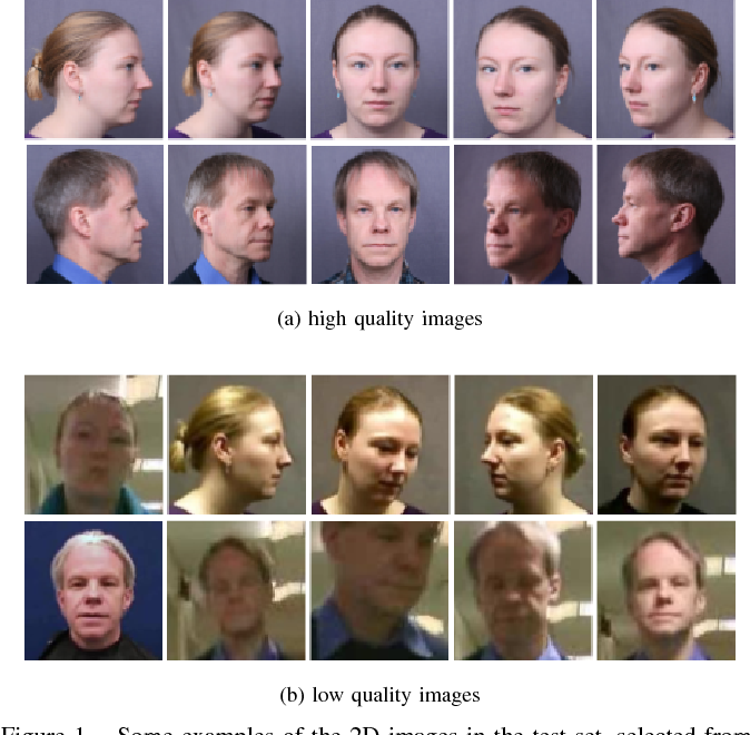 Figure 1 for Evaluation of Dense 3D Reconstruction from 2D Face Images in the Wild