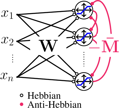Figure 1 for Blind Bounded Source Separation Using Neural Networks with Local Learning Rules