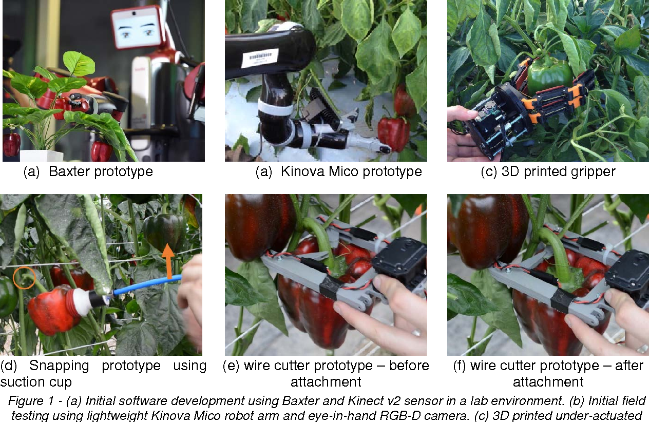 Figure 1 for Lessons Learnt from Field Trials of a Robotic Sweet Pepper Harvester