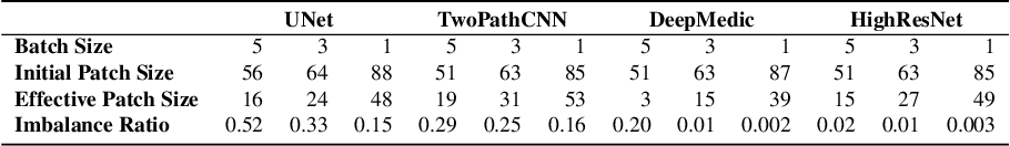 Figure 1 for Generalised Dice overlap as a deep learning loss function for highly unbalanced segmentations