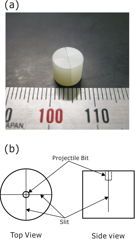Single microparticle launching method using two-stage light-gas gun