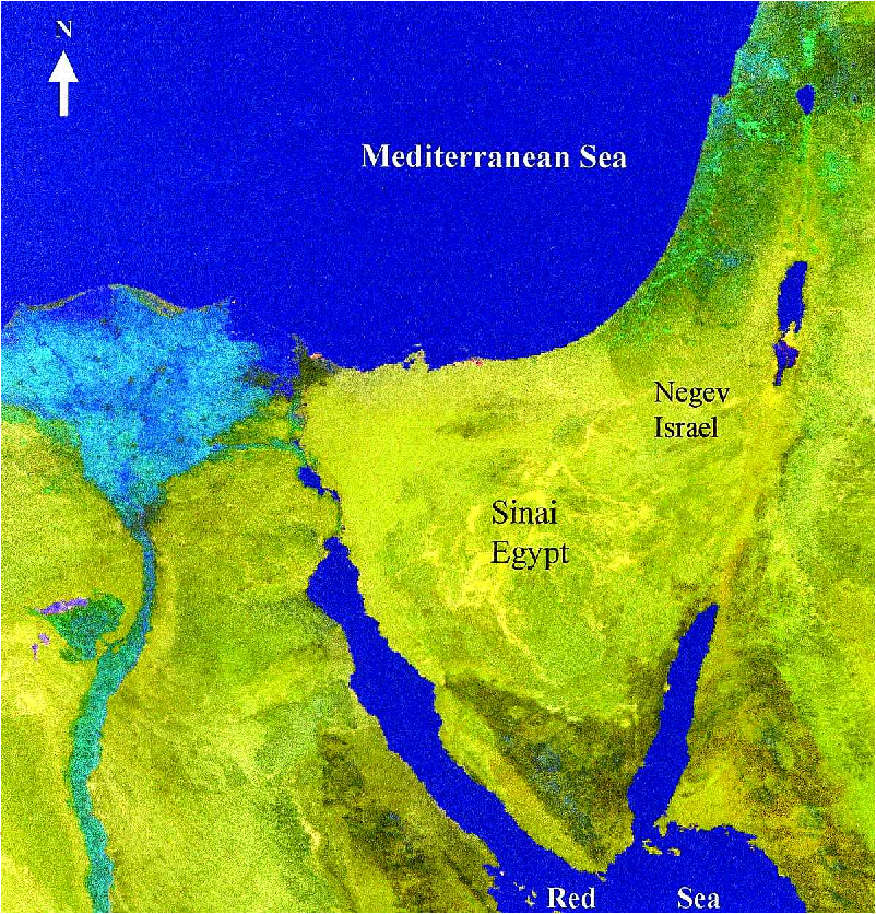 Figure 2 from Thermal variation in the Israel-Sinai (Egypt