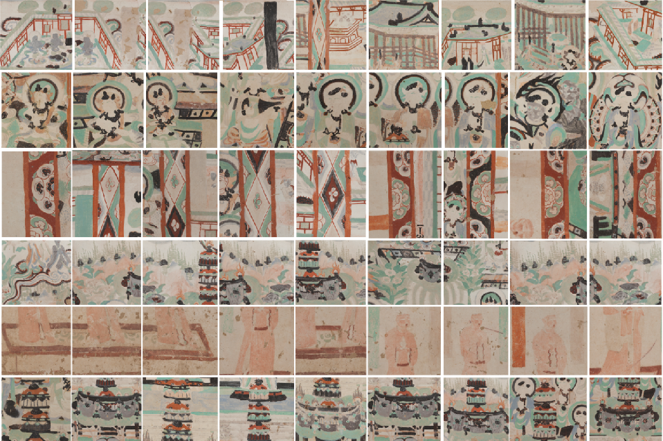 Figure 4 for Dunhuang Grottoes Painting Dataset and Benchmark
