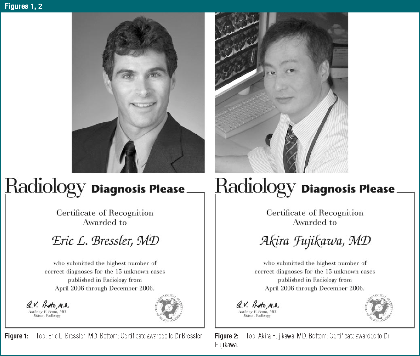Figure 3 From Diagnosis Please Certificates Of Recognition Awarded