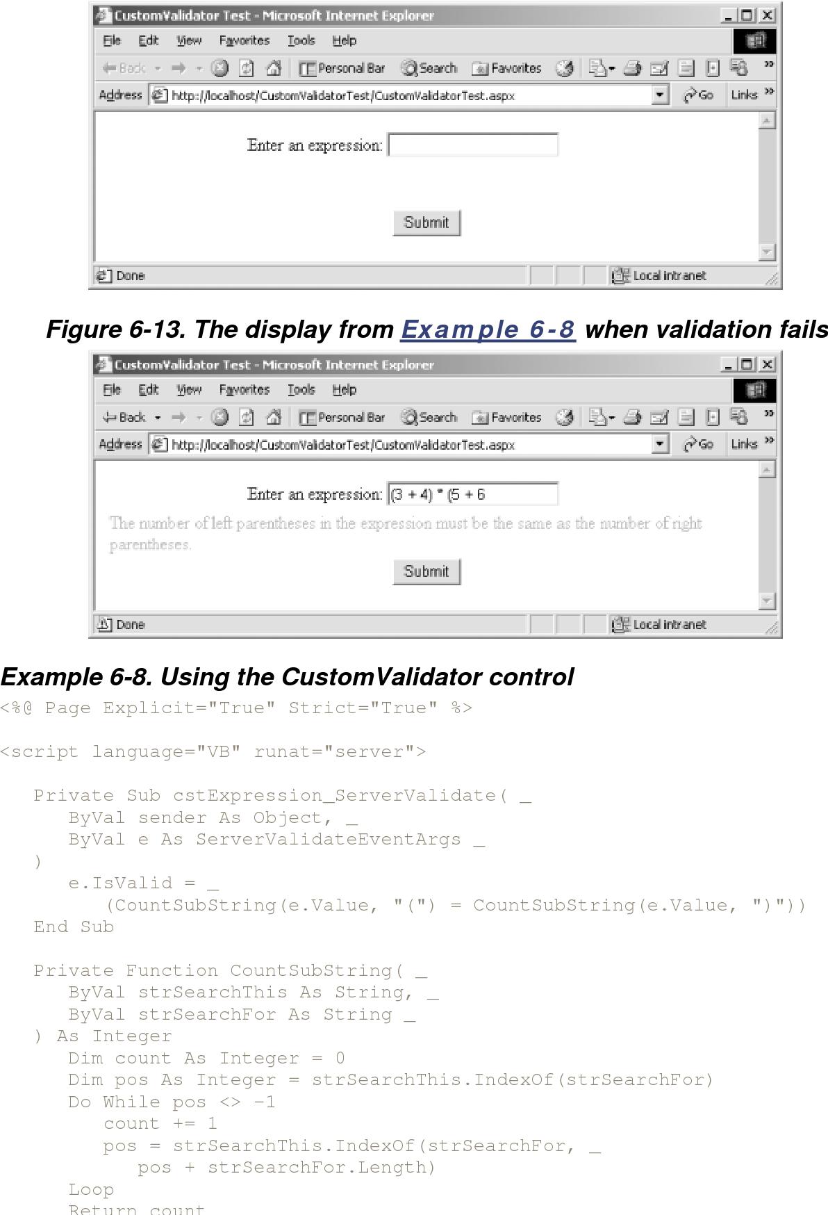 Figure 6-13 from Programming in Visual Basic Net - Semantic