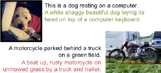 Figure 1 for SentiCap: Generating Image Descriptions with Sentiments
